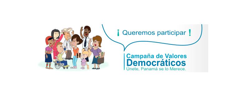 Campaña de Valores Democráticos