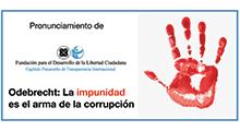 Caso Odebrecht: la impunidad es el arma de la corrupción