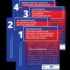 Recomendaciones para el uso transparente de  los fondos durante el Estado de Emergencia