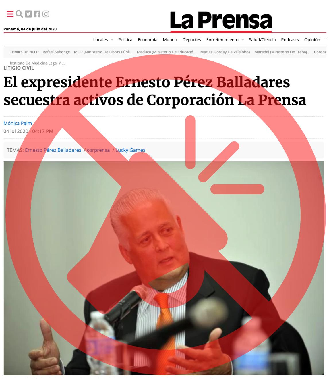 Secuestro de La Prensa: la afectación a la ciudadanía y a la democracia.