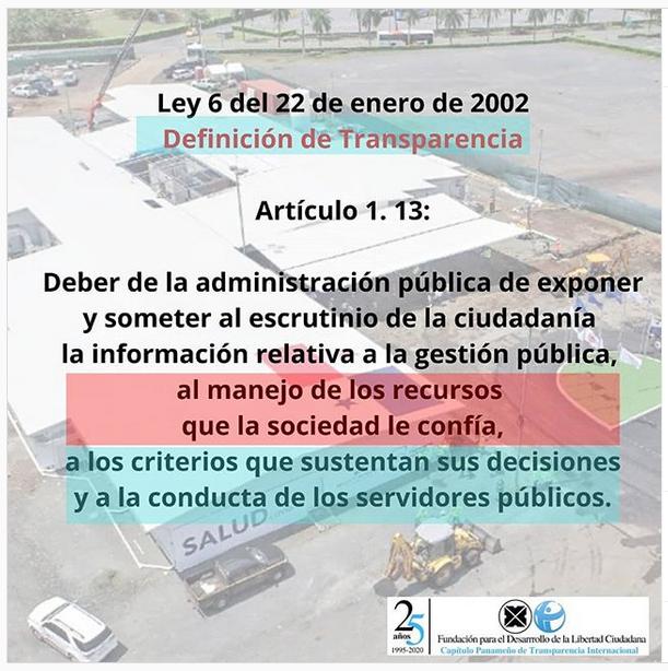 CONSIDERACIONES DE FDLC-TI PANAMA EN EL MARCO DE LA CONSULTA EN LÍNEA ENVIADAS AL CONTRALOR GENERAL DE LA REPÚBLICA SOBRE REFRENDO DEL HOSPITAL MODULAR