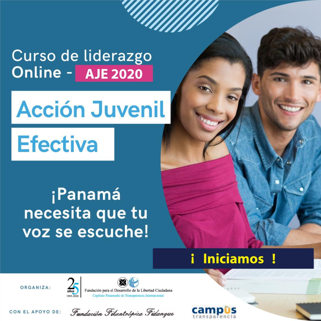 Curso de Acción Juvenil Efectiva 2020