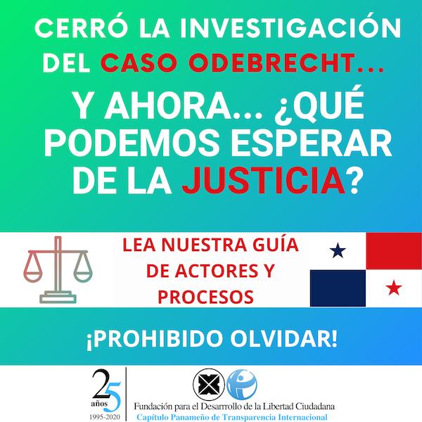 Cerró la investigación del caso Odebrecht:  ¿Qué podemos esperar de la justicia?