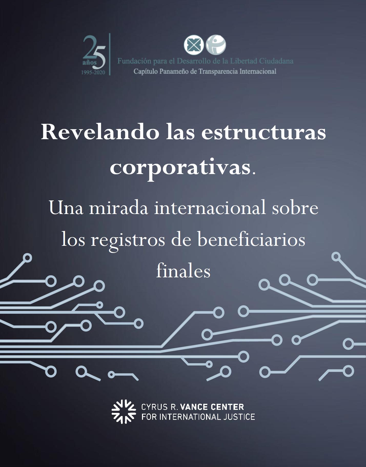 Vance Center y Transparencia Internacional Panamá promueven la reforma del Registro de Beneficiarios Finales
