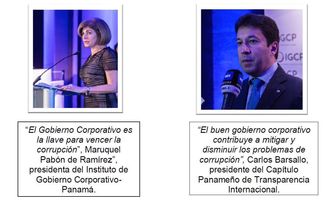 RELATORÍA FORO DE GOBIERNO CORPORATIVO, TRANSPARENCIA Y ANTICORRUPCIÓN