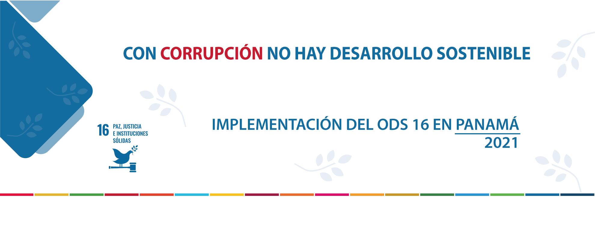 REPORTE SOMBRA: IMPLEMENTACIÓN DEL ODS 16