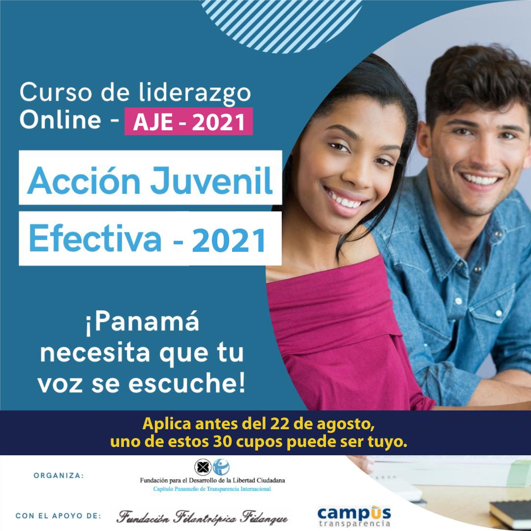Curso Acción Juvenil Efectiva 2021